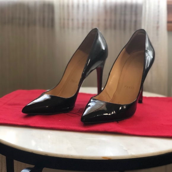 Christian Louboutin Pigalle 35 100 mm patent